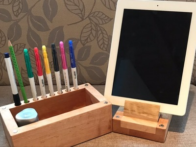 Organizer   DIY Phone and Tablet Stand   Toolbox