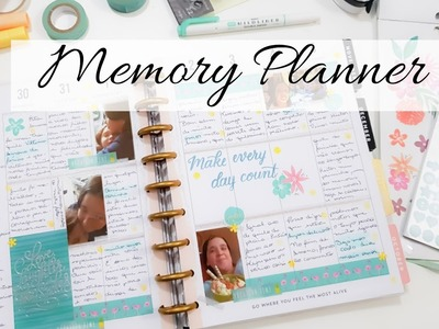 PLAN WITH ME MEMORY PLANNER - Happy Planner