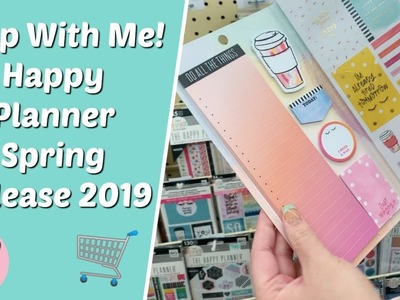 Shop With Me For The New Happy Planner Release Spring 2019!