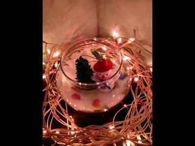 Small corner for Christmas day celebration#anudik creativity corner