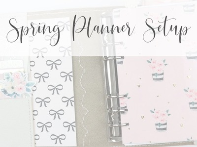 Spring Planner Setup | PelleStudio B6 Rings