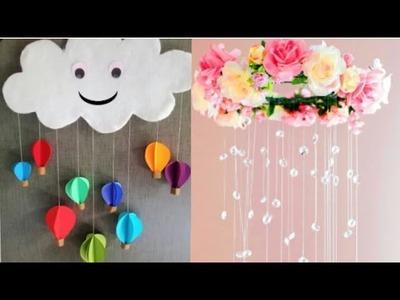Wall hanging paper air hot balloon | home decoration idea | DIY SHIVANI |