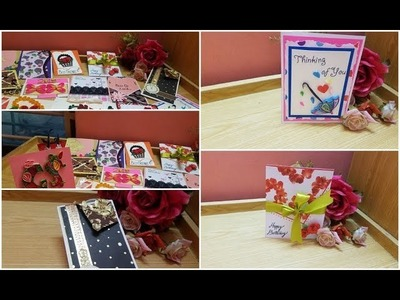 #15 greeting cards ideas part 2 by GS Craft.