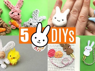 5 More Bunny Craft Ideas - Easy Rabbit DIY Projects to make!
