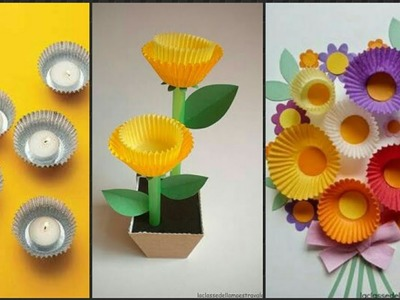 Awesome  Cupcake  Liner Craft Idea's.