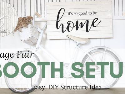 Booth Setup Idea ~ Booth Structure ~ Vendor Fair Setup ~ DIY Booth Setup