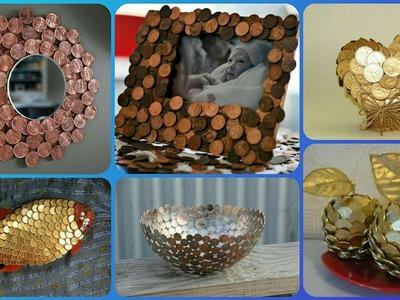 Coins Craft Idea's|| Penny Craft Idea's.