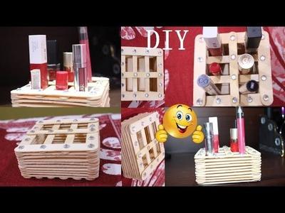 DIY Makeup Organiser I Room Storage Idea I Easy DIY Craft I Creative Diaries