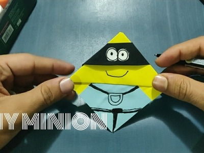 Diy Minion Crafts paper craft for kids | Art and Craft ideas |