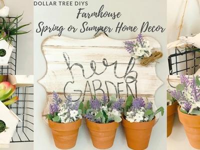 Dollar Tree DIY Farmhouse Spring or Summer Home Decor