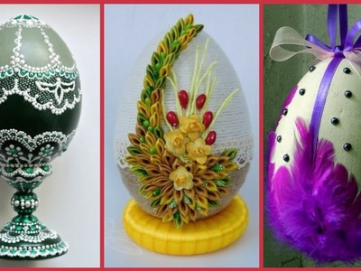 Egg craft ideas with beautiful decoration style