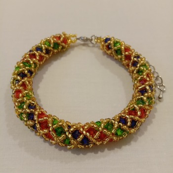 Handmade Royal Golden Bracelet