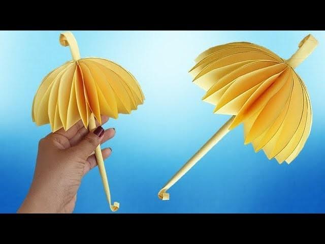 How To Make Beautiful Umbrella, Kids Paper Craft  Ideas