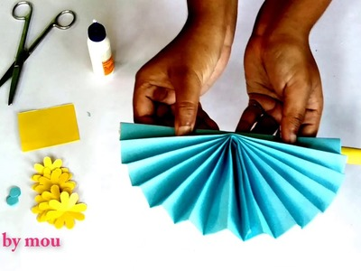 How to make  paper craft  | kagojer wallmete |