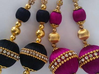 New braidal blouse tassels. latkan.dori.latest tassel for blouse,chudi,lehanga,kurtis.diy