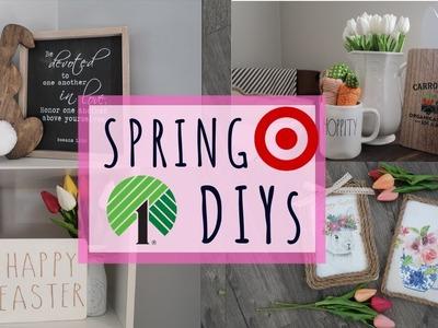 Quick & Easy Last-Minute Easter DIYs | Dollar Tree & Target Dollar Spot Supplies