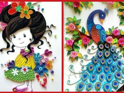 Very Beautiful Paper Quilling Craft Ideas