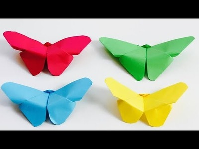 Very Cute Paper Butterflies \Easy Origami Butterflies\Paper Craft
