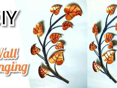 Wall Hanging   DIY   Easy Wall Decor   Amazing Craft Idea   By Punekar Sneha