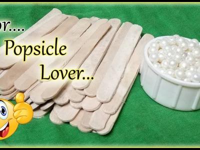 13 DIY Popsicle stick craft compilation I Popstick Crafts Handmade Project   Ice Cream Stick hack I