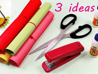 3 Genius Paper Craft Idea   DIY Home Decor with Paper   Paper Craft DIY Home Decor