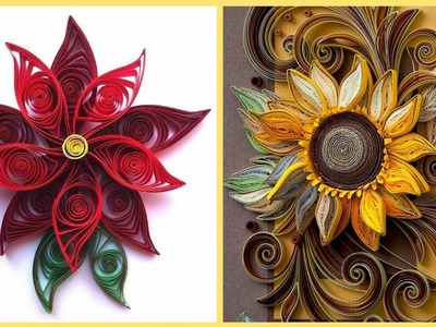50+ Quilling Paper Craft Ideas || Quilling Flowers || Quilling Art