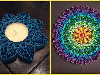 Amazing Quilling Art & Craft Ideas || Paper Flowers || Diy Quilling Flowers