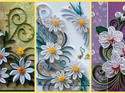 Amazing Quilling Paper Flower Ideas || Paper Flower || Qyilling Art & Craft