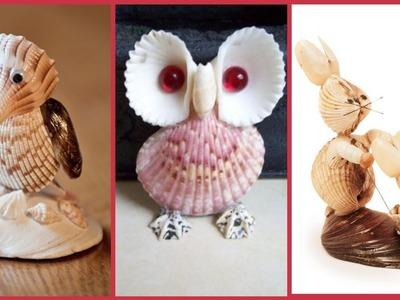 Beautiful fantastic seashell craft ideas