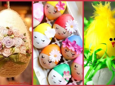 Beautiful simple and easy egg craft ideas