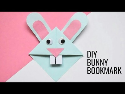 Easter Bunny Corner Bookmark | DIY Origami for Kids | Fun Paper Craft Ideas for School