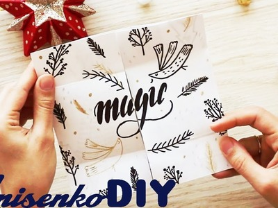 EASY CRAFT YOU CAN MAKE NEVER ENDING CARD ENDLESS CARD DIY TUTORIAL