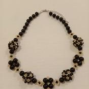 Handmade Golden Black Necklace