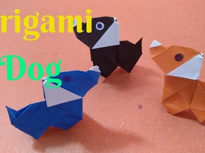 How To Make Beautiful Paper Dog | Diy Craft Origami Dog #3 | Home Diy Crafts Paper