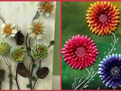 Most beautiful flower craft ideas