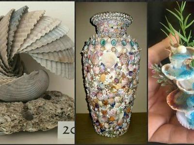 New Sea Shell Craft Idea's.