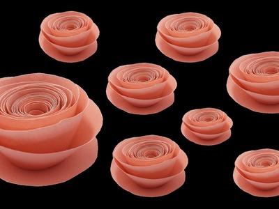 Origami paper rose ideas | New fold craft rose video 2019 | কাগজের গোলাপ