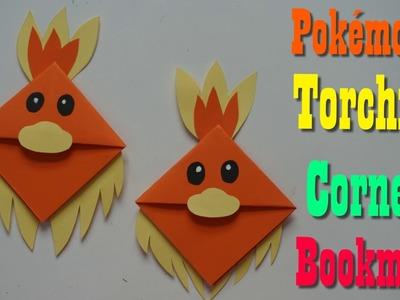 Origami  Torchic corner bookmark Paper Craft For Kids