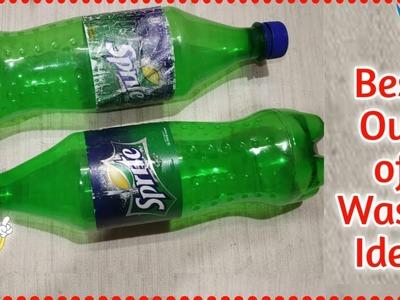 Plastic Bottle Craft Idea | DIY | Best Out of Waste Plastic Bottle Flower Vase | SuchetaCreations