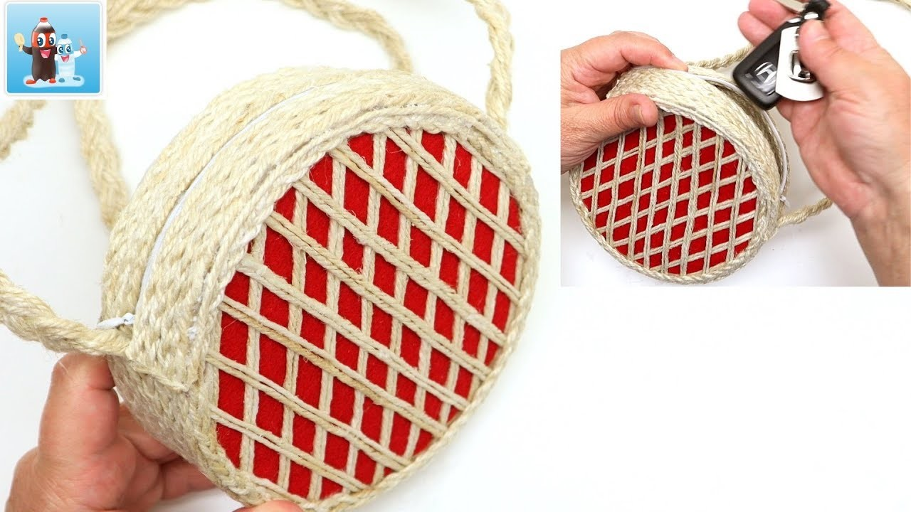 Smart Ideas How to Make Jute Bag Art and Craft
