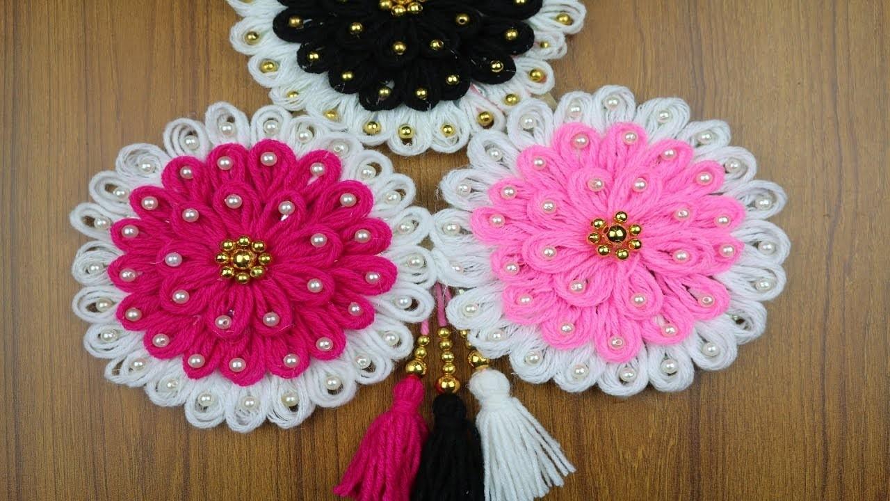 Waste Material Craft Ideas For Home Decor Woolen Craft Idea Best