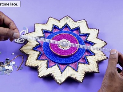 WOW!! Beautiful DIY Easy Wall Hanging Craft Idea from Match BOX - Best out of Waste Crafts