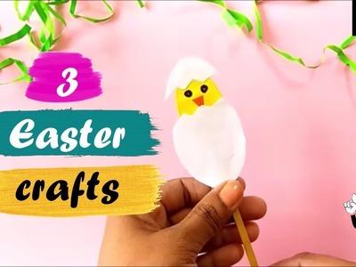 3 Diys |easy easter paper craft ideas | egg carton craft ideas for kids| kids craft ideas with paper