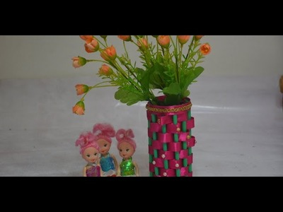 Amazing. DIY. Easy ,Simple Flower Vase.How To make Flower Vase At Home