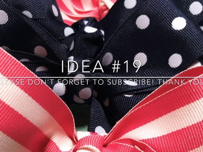 Craft Fair Series 2019- Pretty Little Hair Bows-Idea #19
