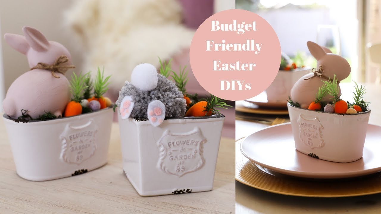 Dealz, Poundland Budget Friendly Easter DIY's *AD
