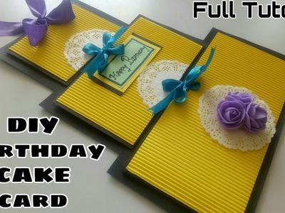 DIY Birthday Cake Card ||Happy Birthday Card|| DIY Cake Card||Birthday special Card||