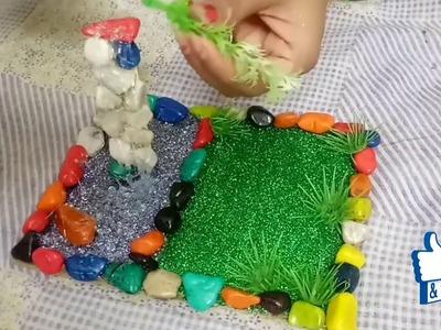 Diy cute kids craft | Easy home decor showpiece | Creative kids project idea