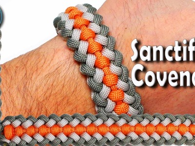 DIY Paracord Bracelet Sanctified Covenant World of Paracord How to make Paracord Bracelet Sanctified