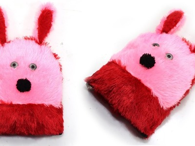 DIY TOY PILLOW MAKING from OLD SAREE & FUR CLOTHES